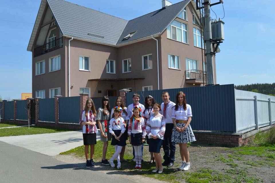 homes for children in Ukraine